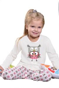 taro-969-fifi-beige-dětské pyžamo